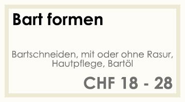 Coifför hairlich GmbH - Preise - Herren - Bart formen