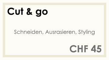 Coifför hairlich GmbH - Preise - Herren - Cut & go