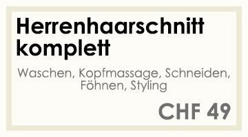 Coifför hairlich GmbH - Preise - Herren - Haarschnitt komplett
